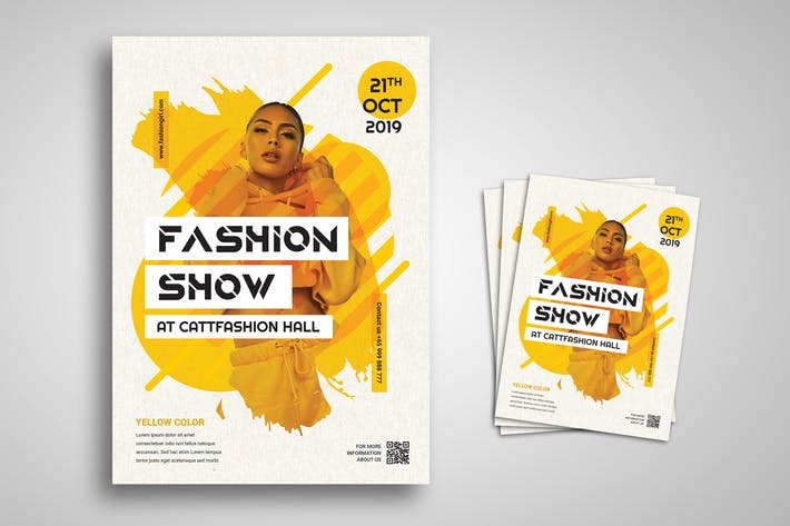Thumbnail for Fashion Show Flyer Promo Template