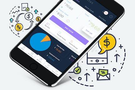 B Wallet Dashboard 5 Mobile Ui