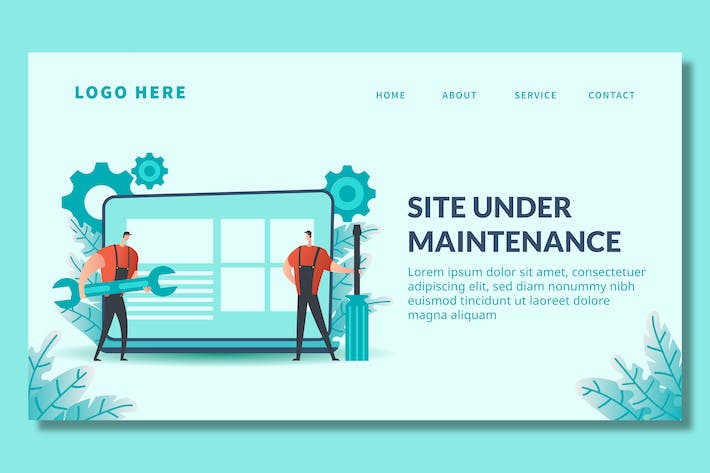 Thumbnail for Page Maintenance - Landing Page