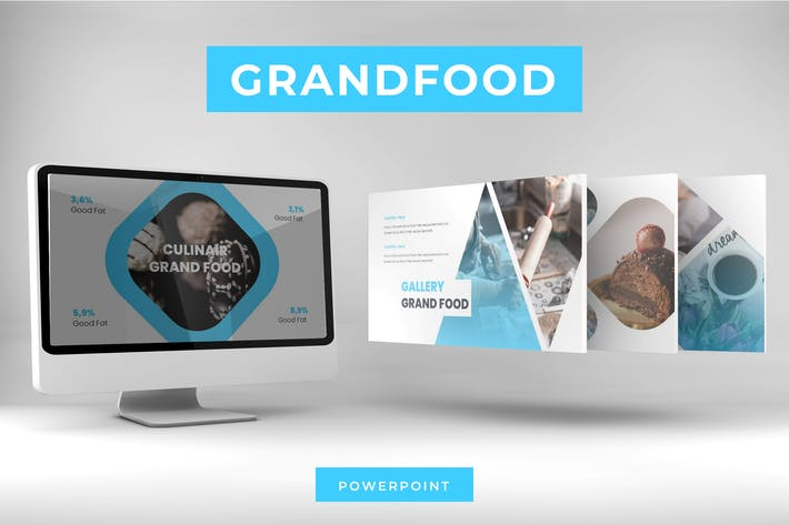 Thumbnail for Grand Food - Powerpoint Template