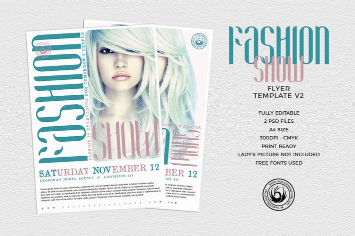 Thumbnail for Fashion Show Flyer Template V2