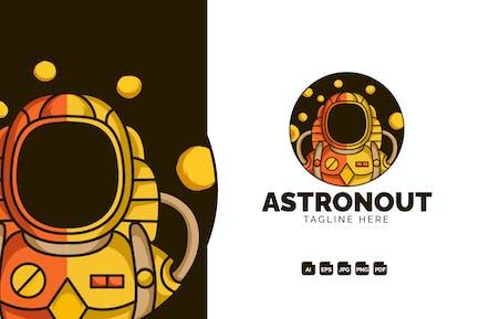 Astronout Modern Logo Design