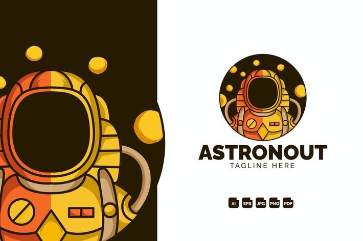 Thumbnail for Astronout Modern Logo Design