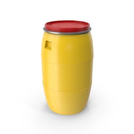 Пластиковая бочка