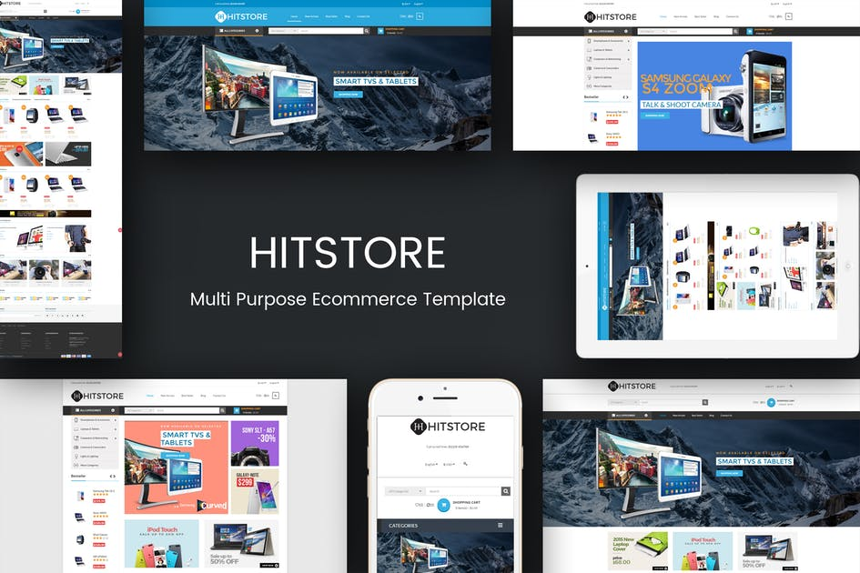 Download HitStore - Responsive Hitech Opencart Theme by posthemes
