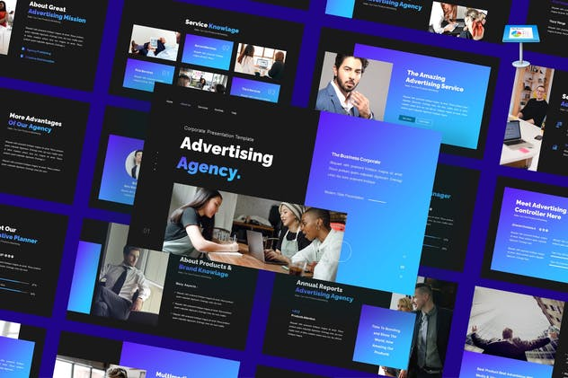 Advertising Agency - Business Keynote Template