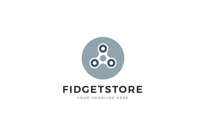Thumbnail for Fidget Store Logo Template