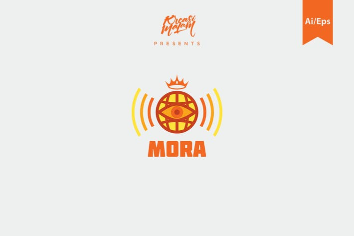 Thumbnail for Mora Logo Template