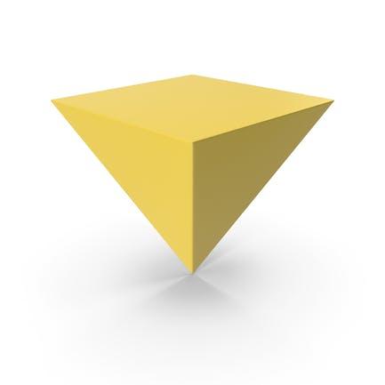 Pyramide Gelb