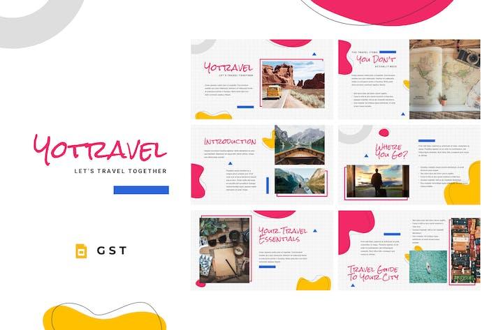 YOTRAVEL - Путешествия Шаблон слайдов Google