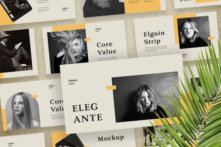 Thumbnail for Elegante - Шаблон презентации