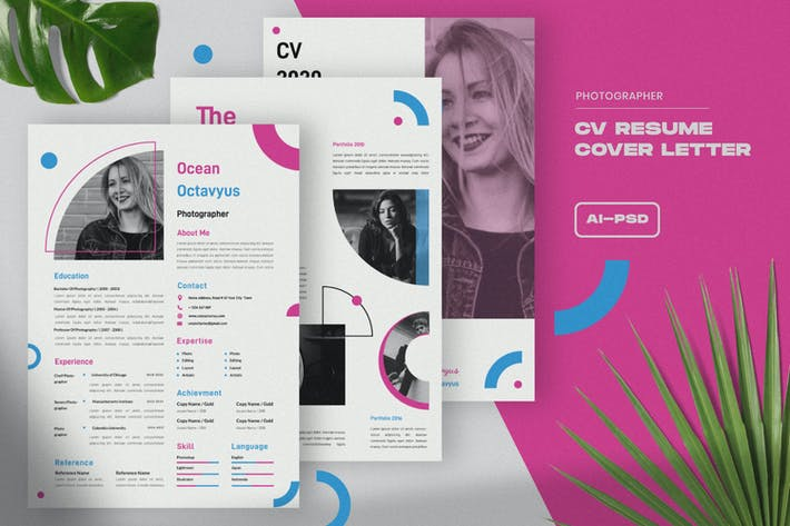 Thumbnail for Resume CV Template