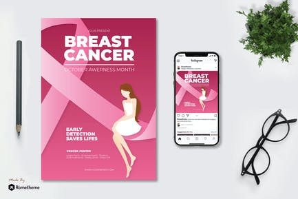 Breast Cancer Day - Flyer AS