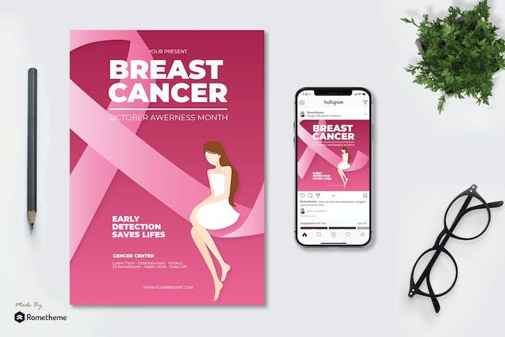 Thumbnail for Brustkrebs-Tag - Flyer AS