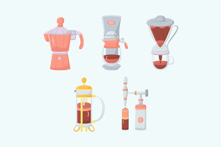 Thumbnail for Coffee Brewing Method Illustration