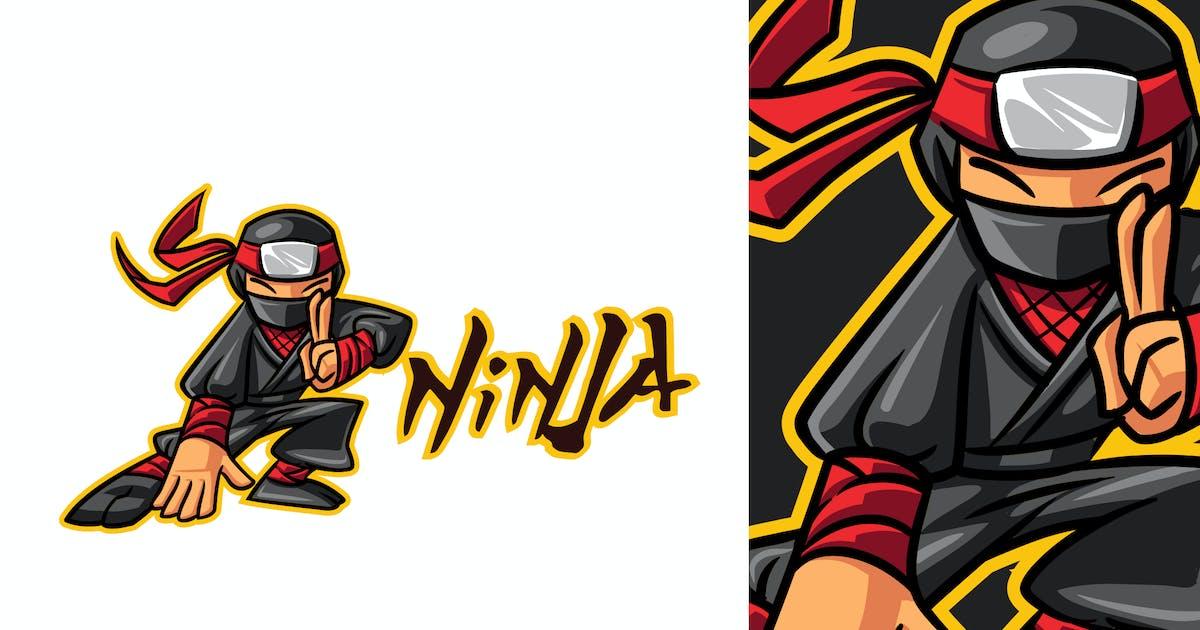 Download Cartoon Ninja Mascot Logo 2.0 by Suhandi