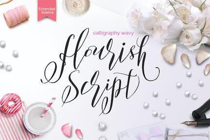 Flourish Script