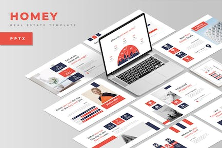 Homey : Real Estate PowerPoint Template