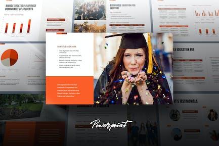 Edza - Education Powerpoint Template