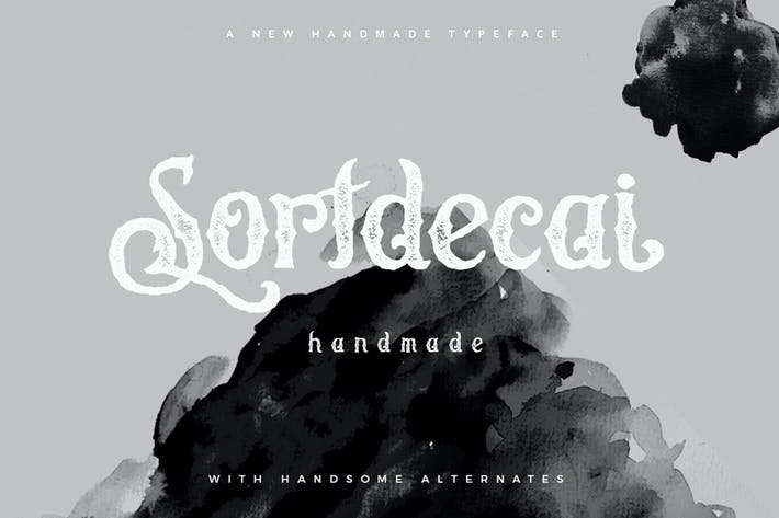 Thumbnail for Sortdecai Fait à la main