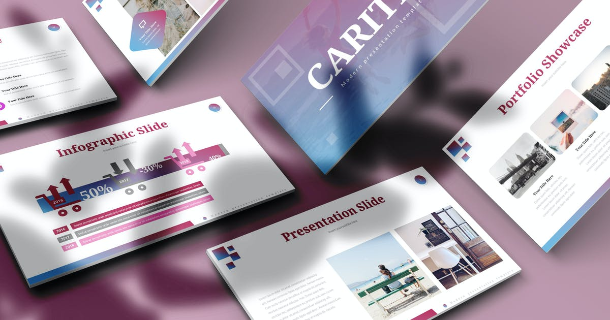 Download Caritio - Keynote Template by aqrstudio
