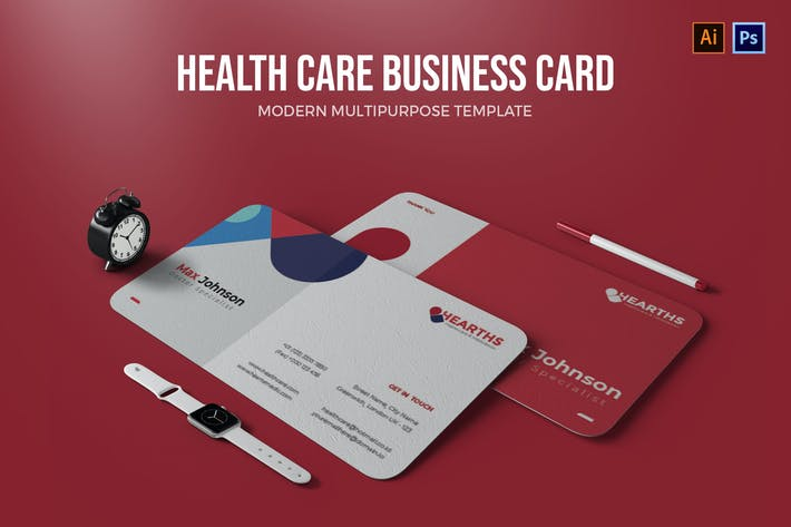 Thumbnail for Healthcare - Business Card
