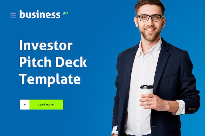 Thumbnail for Investor Pitch Deck Template PowerPoint