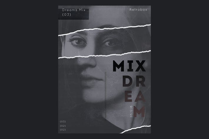 Thumbnail for Dreams Mix Flyer Poster