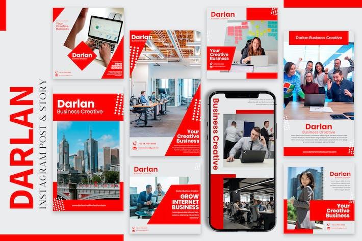 Darlan Business - Instagram Post & Story Templates