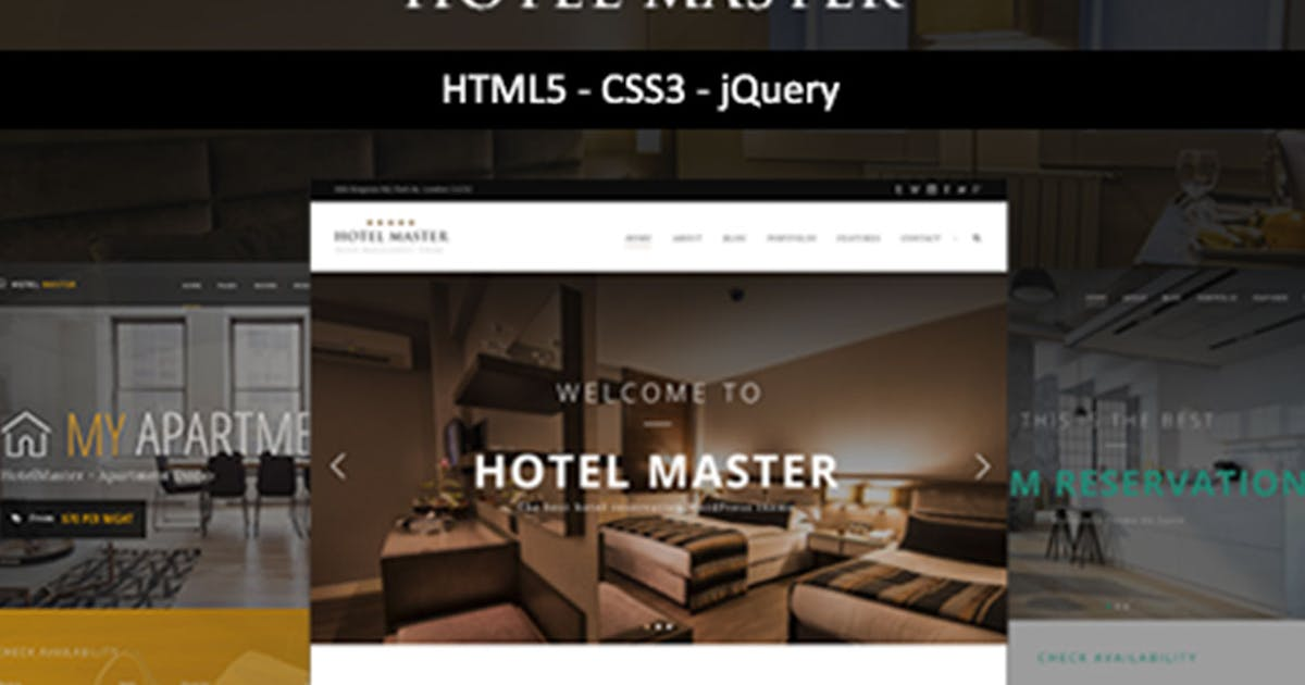 Download Hotel Master | Hotel HTML Template by max-themes
