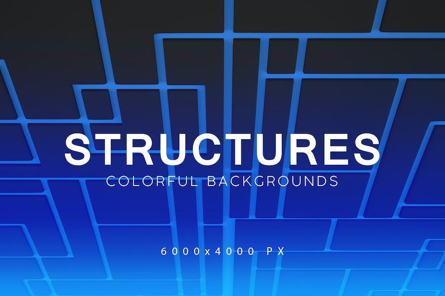 Strukturen 3D Hintergründe