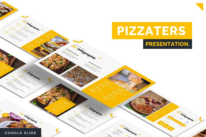 Thumbnail for Pizzaters - Google Slides Template