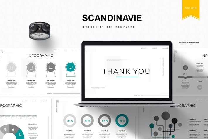 Thumbnail for Scandinavie | Google Slides Template