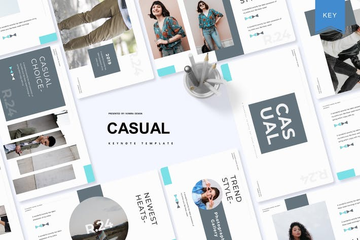 Thumbnail for Casual | Keynote Template