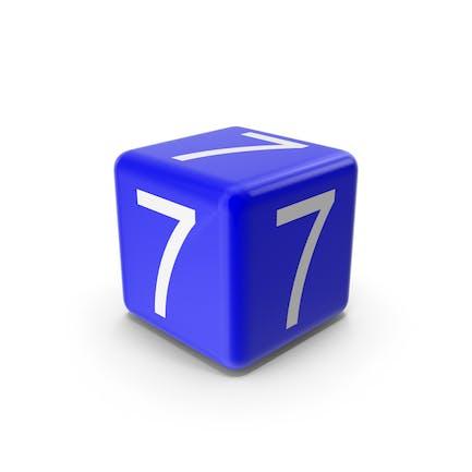 Blue 7 Block