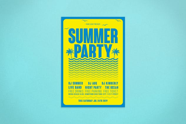 Summer Flyer - product preview 0
