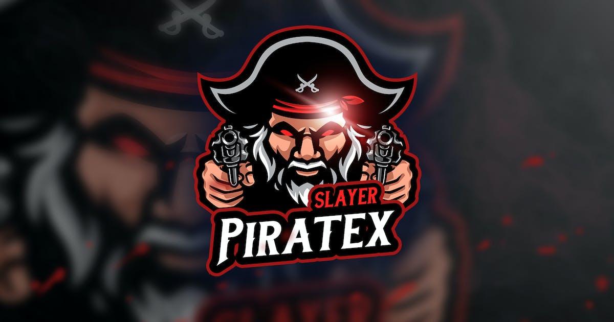 Download Slayer Pirate - Mascot & Esport Logo by aqrstudio