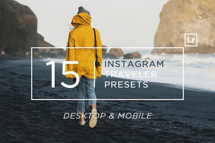 Thumbnail for 15 Пресеты для путешественников Instagram Лигтрум + Мобильный