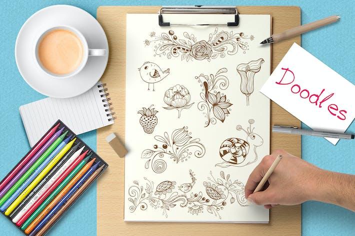 Thumbnail for Doodle Design-Elemente