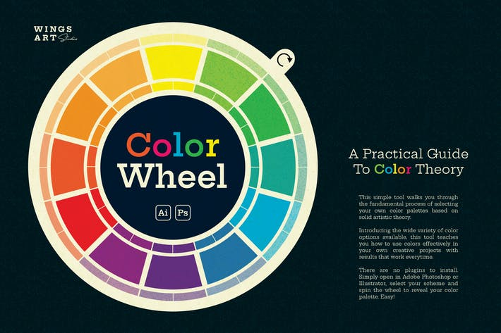 Thumbnail for The Wing's Art Color Wheel