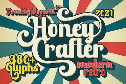 Honey Crafter Vintage Business Font