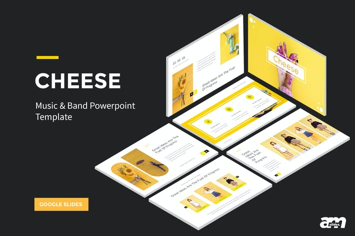 Thumbnail for Cheese Google Slides