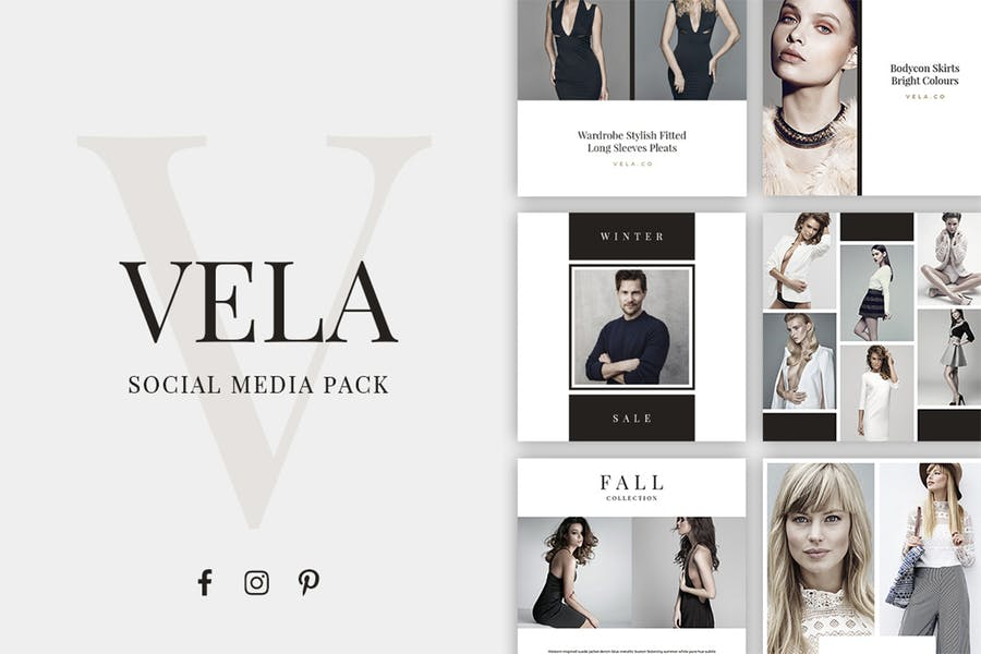 Vela Social Media Pack