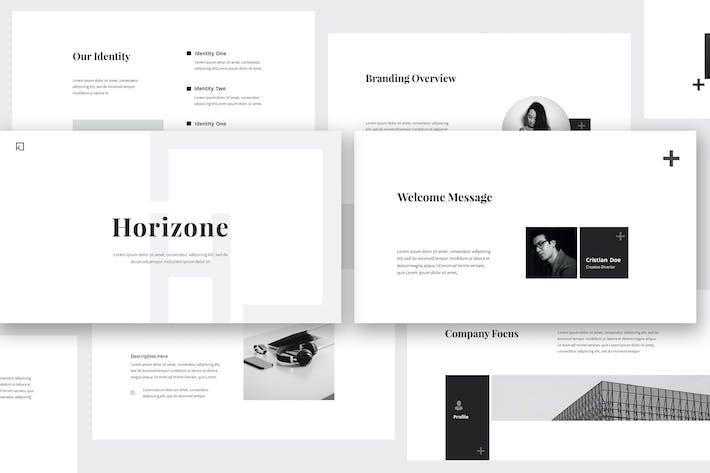 Thumbnail for Horizone Branding Guidelines Keynote