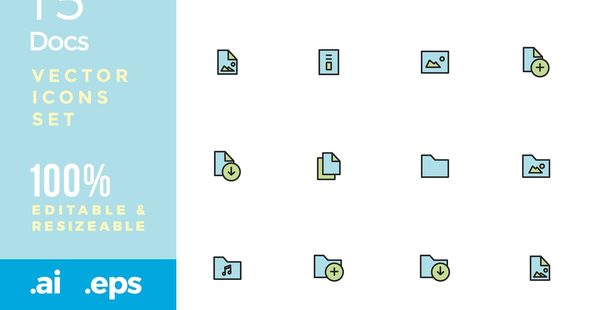 Download 15 Documents vector icon by yip87