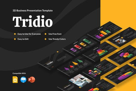 TRIDIO - 3D Business Presentation (DARK)