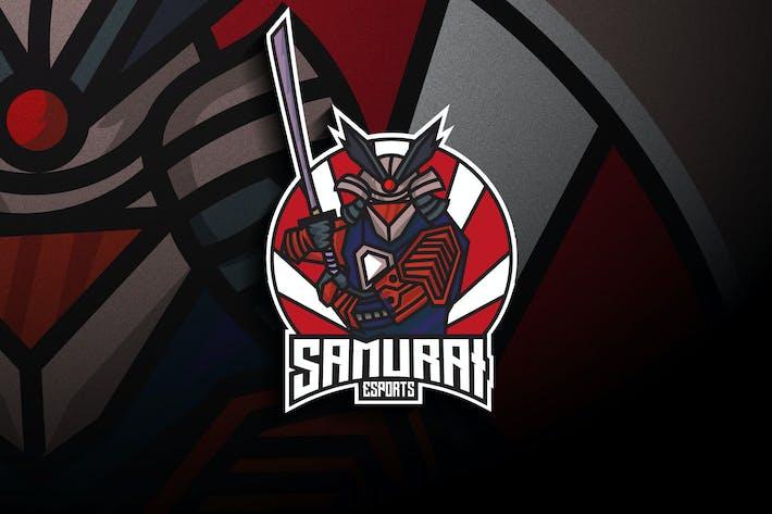 Thumbnail for Samurai Robot Esports - Mascot & Esport Logo