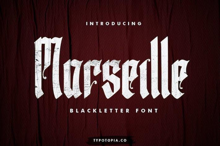Marseille – Blackletter Font