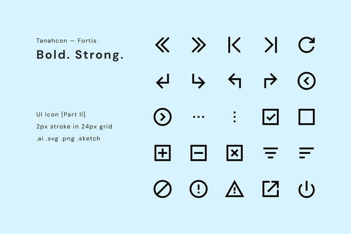 Thumbnail for UI Icon Set