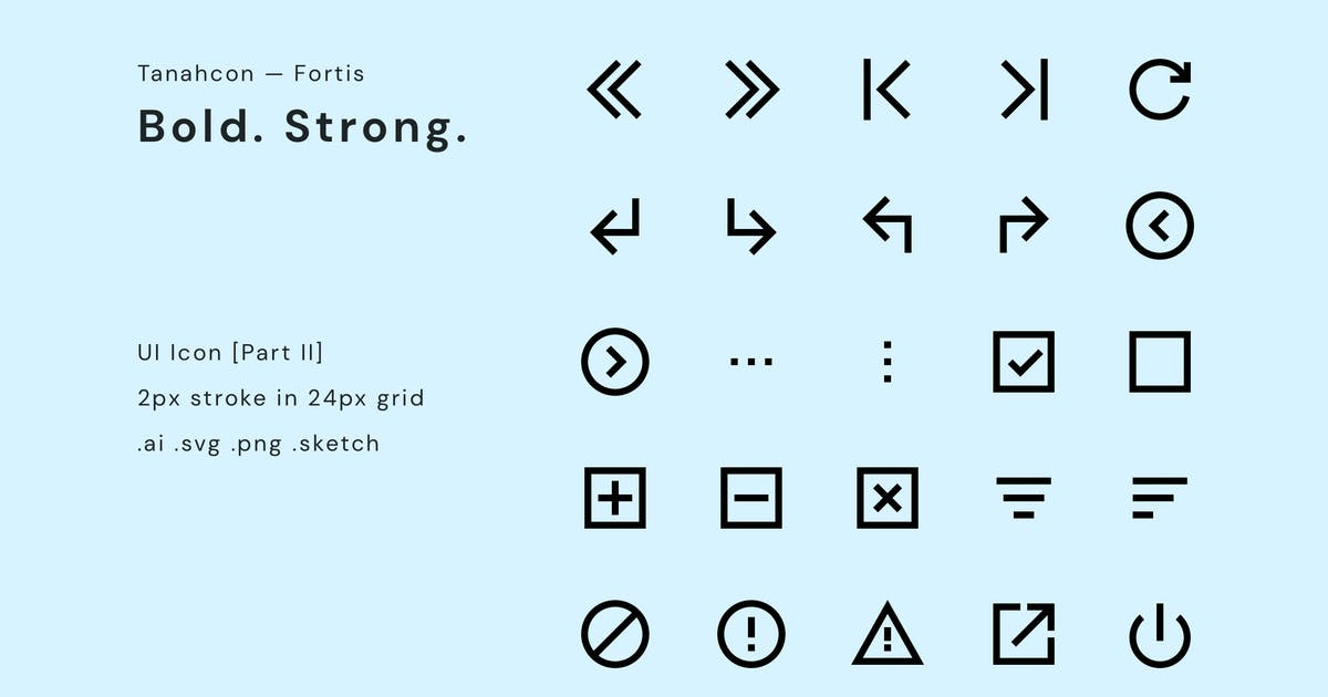 Download UI Icon Set by TanahAirStudio